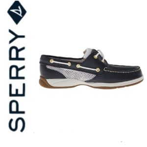 Sperry Top Sider Intrepid Navy/White Shoe 9.5